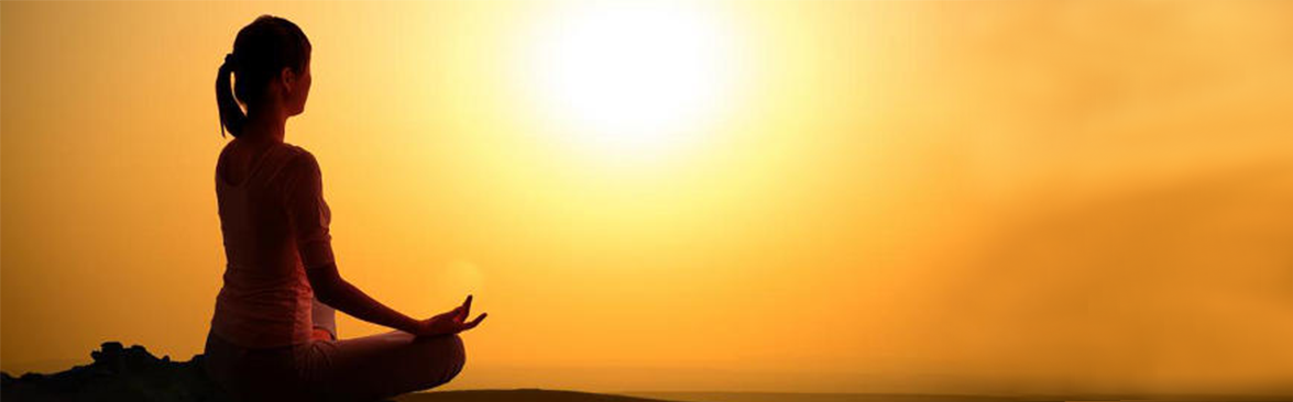 Meditation helps to overcome negatives